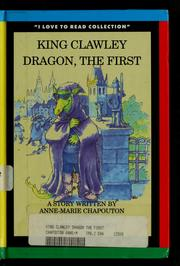 Cover of: King Clawley Dragon, the First