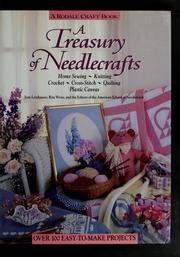 Cover of: A treasury of needlecrafts