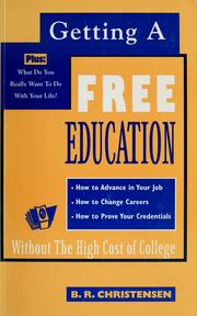 Cover of: Getting a free education