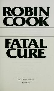 Cover of: Fatal cure