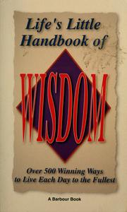 Cover of: Lifes Little Handbook of Wisdom