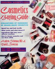 Cover of: Cosmetics buying guide