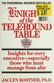 Cover of: Knights of the tele-round table