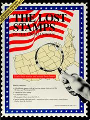Cover of: The lost stamps of the United States