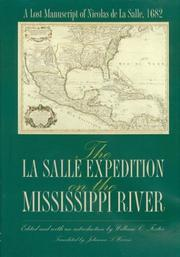 Cover of: The LA Salle Expedition on the Mississippi River | William C. Foster