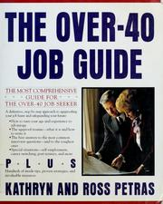 Cover of: The over-40 job guide