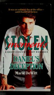 Cover of: Daniel's Deception (Stolen Moments)