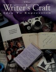 Cover of: Writers Craft Idea to Expression