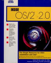 Cover of: Inside OS/2 2.0