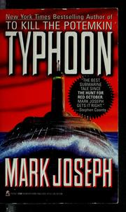 Cover of: Typhoon | Mark Joseph