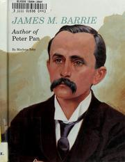 Cover of: James M. Barrie, author of Peter Pan | Marlene Toby