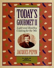 Cover of: Today's gourmet II
