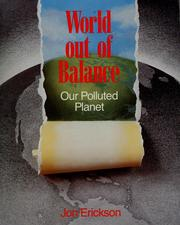 Cover of: World out of balance