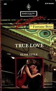 Cover of: True Love