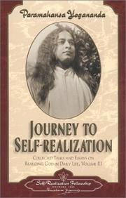 Cover of: Journey to Self-Realization