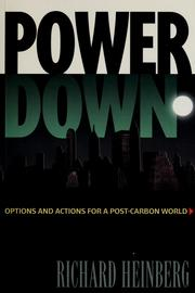 Cover of: PowerDown | Richard Heinberg