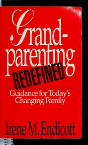 Cover of: Grandparenting redefined