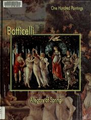 Cover of: Botticelli, Allegory of spring |