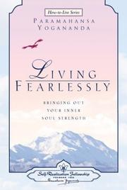 Cover of: Living Fearlessly
