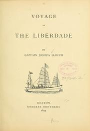 Cover of: Voyages of the Liberdade | Joshua Slocum