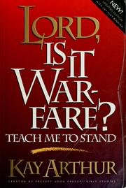 Cover of: Lord, is It Warfare?: Teach Me to Stand