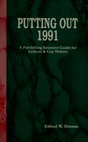 Cover of: Putting out 1991: a publishing resource guide for lesbian & gay writers