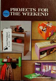 Cover of: Projects for the weekend by Robert Scharff & Associates
