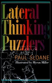 Cover of: Lateral thinking puzzlers