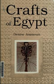 Cover of: Crafts of Egypt