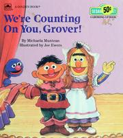 Cover of: We're counting on you, Grover!