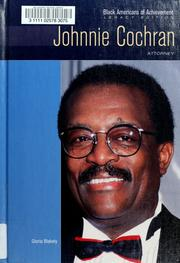 Cover of: Johnnie Cochran | Gloria Blakely