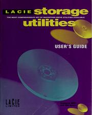 Cover of: La Cie storage utilities | La Cie Limited