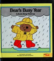 Cover of: Bears Busy Year
