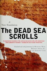 Cover of: The Dead Sea scrolls | Michael Owen Wise, Martin G. Abegg, Edward M. Cook