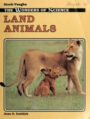 Cover of: Land animals