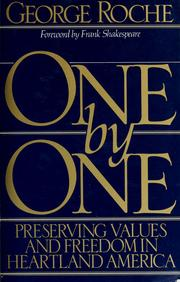 Cover of: One by one