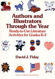 Cover of: Authors and illustrators through the year | David Fiday