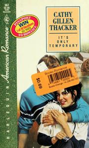 Cover of: It'S Only Temporary
