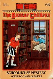 Cover of: SCHOOLHOUSE MYSTERY