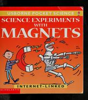Science with magnets by Helen Edom