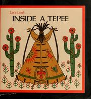 Cover of: Inside a tepee