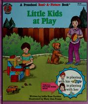 Cover of: Little Kids at Play (A Preschool Read-a-Picture Book)