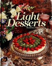 Cover of: Light desserts