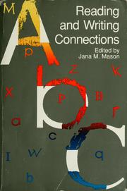 Cover of: Reading and writing connections | edited by Jana M. Mason.