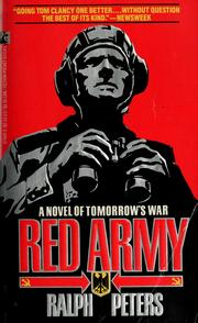 Cover of: Red Army by Ralph Peters
