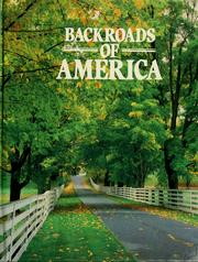 Cover of: Backroads of America