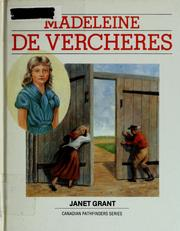 Cover of: Madeleine de Verchères