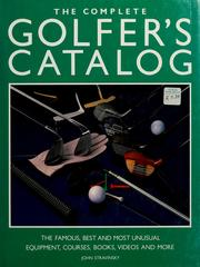 Cover of: The complete golfer's catalog