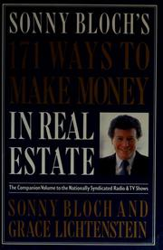 Cover of: 171 ways to make money in real estate