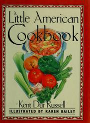 Cover of: A little American cookbook
